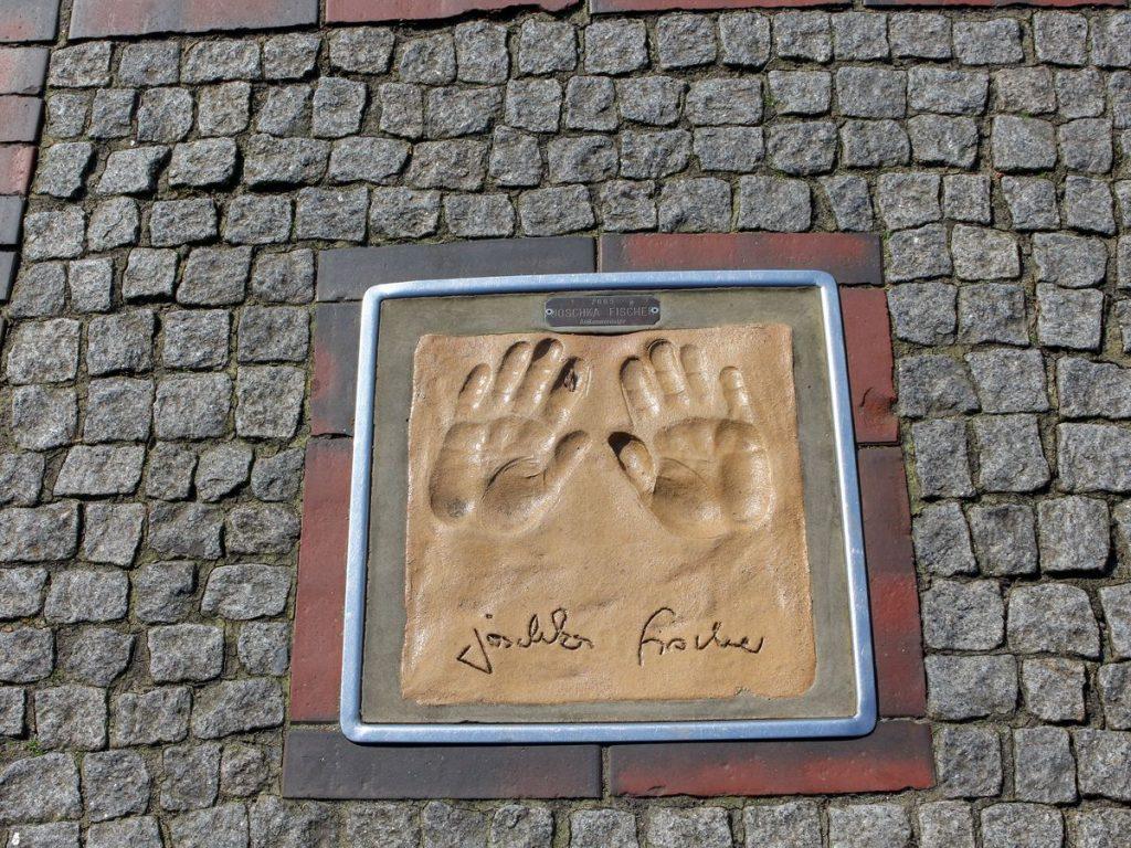 CSM HANDS OF FAME JOSCHKA FISCHER F317B66878